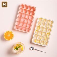 Jordan&Judy Ice Tray Silicone Ice Tray Colorful Ice Cube Tray Homemade Small Freezer Frozen DIY Ice Mold Ice Lattice