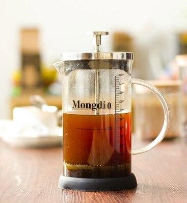 آلة صنع القهوة الفرنسية بالضغط ، تصميم بسيط ، غلاية ساخنة وباردة ، إبريق شاي ، فلتر مياه ، سعة 12 أونصة ، 20 أونصة