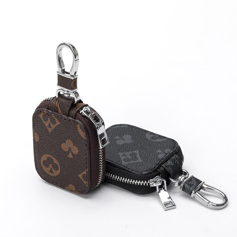 Миниатюрная сумка для карт, органайзер, модные автомобильные держатели для ключей, Дамский умный миниатюрный чехол для ключей от дома, чехо...