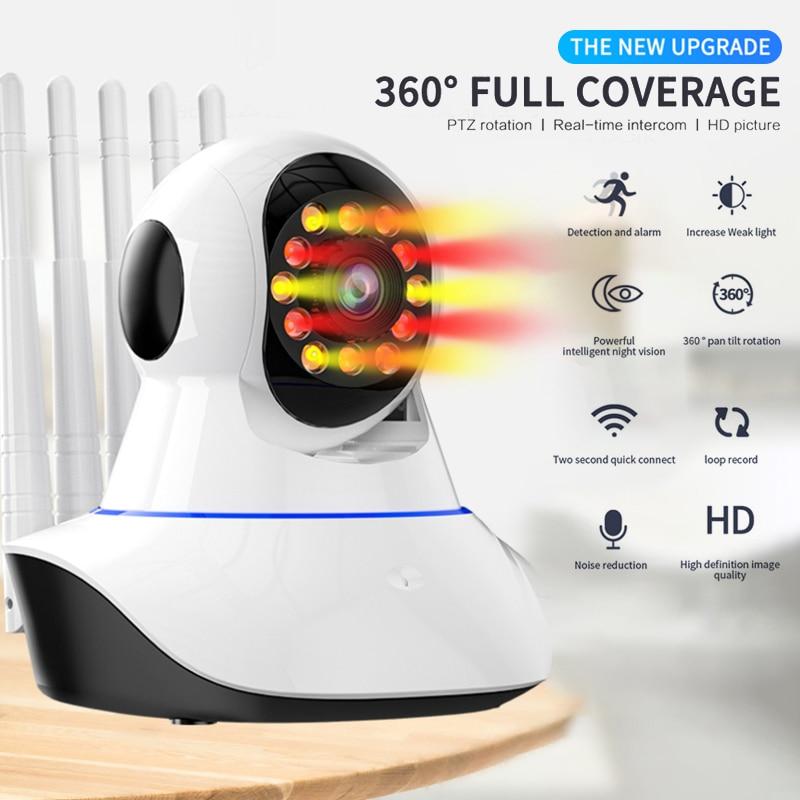عالية الجودة 720P اللاسلكية IP كاميرا الأمن AP هوت سبوت وظيفة داخلي المنزل الذكية واي فاي مراقبة الطفل ليلة IR-CUT الأساسية وحدة