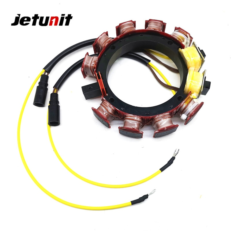 Outboard Stator For Johnson Evinrude OMC 1986-1987(200&225HP-6 Cyl)1985-1987(275&300HP-8Cyl) 173-3117,18-5869,583847,583117 enlarge