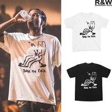 19ss Travis scott t shirt men vintage hiphop cotton rocky streetwear tee tops