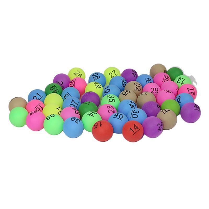 Цифровой цветной мяч для настольного тенниса Huisheng из полипропилена, цветной мяч для настольного тенниса, рекламный цветной мяч для трениро...