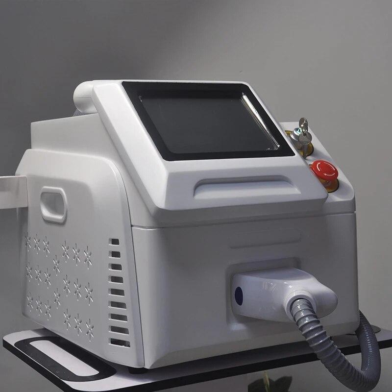 Máquina de depilación profesional y effective 3 longitudes de onda... 808nm... 755nm......