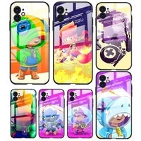 tempered glass cover cute anime stars for apple iphone 12 11 8 7 6 6s xs xr se x 2020 pro max mini plus phone case
