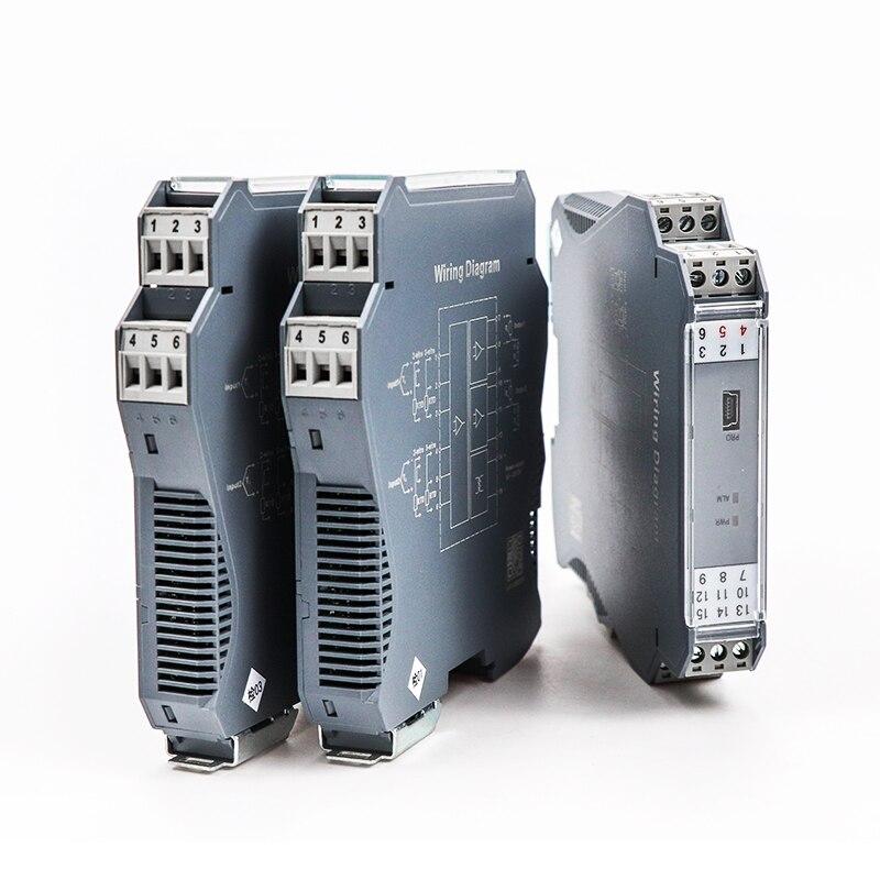 Análogo do Sinal do Isolamento do Isolador do Sinal do Conversor dc do Sinal Isolador 1out 4-20ma 0-10 v 1in