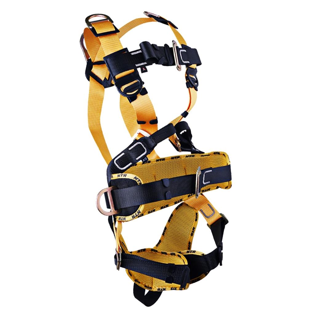 Полный корпус скалолазание высокая работа скалолазание ремни безопасности черный профессиональный безопасности дерево Arborist оборудование снаряжение