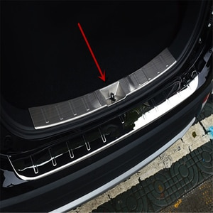 WELKINRY для Mitsubishi Outlander 2016 2017 2018, задняя коробка, порог порога двери, противоскользящая защитная пластина, Накладка педали