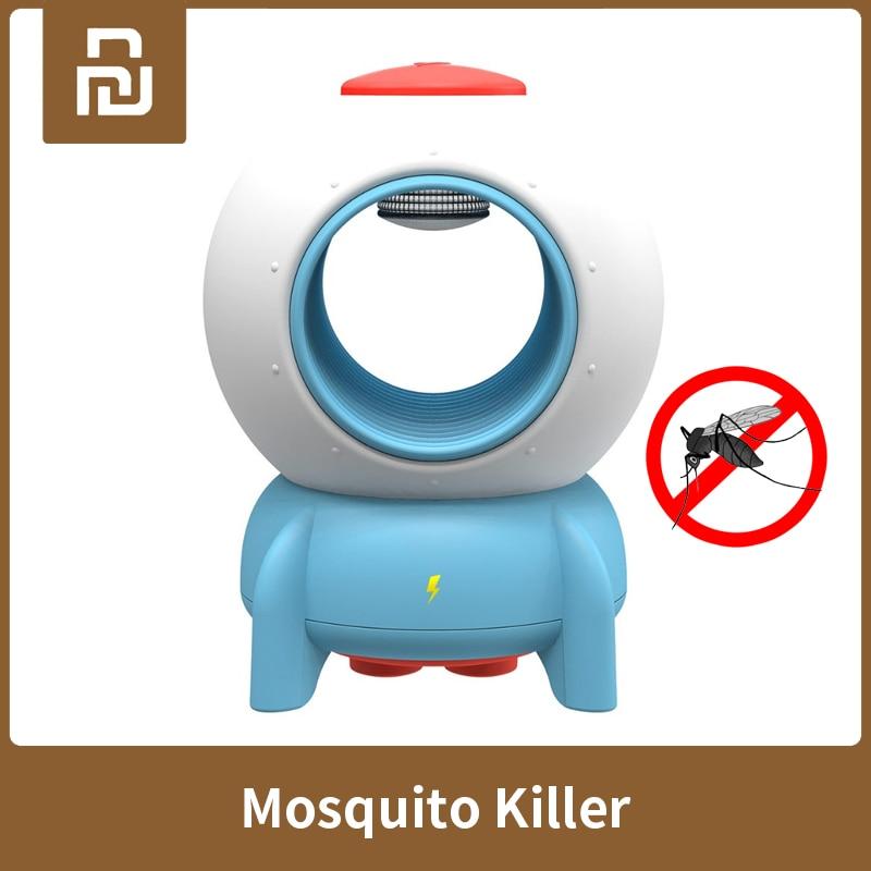 Xiaomi Youpin Bcase cohete Mosquito asesino USB luz UV repelente para mosquitos fotocatalizador asesino lámpara trampa para los niños del bebé