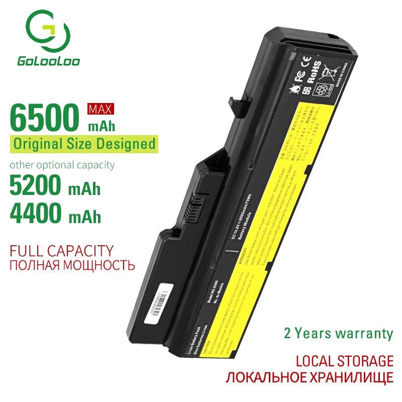 Golooloo 6Cells Battery G460 For Lenovo G470 V470 L09C6Y02 L09L6Y02 L09M6Y02 L09N6Y02 L09S6Y02 LO9L6Y02 LO9S6Y02 B570E 121001091