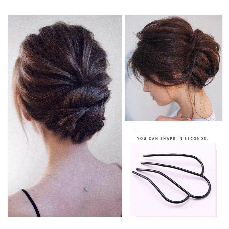 Модные женские зажимы для укладки волос, зажимы для пучка, инструменты для плетения волос «сделай сам», аксессуары для волос, зажим «сделай сам», прическа, косички для волос