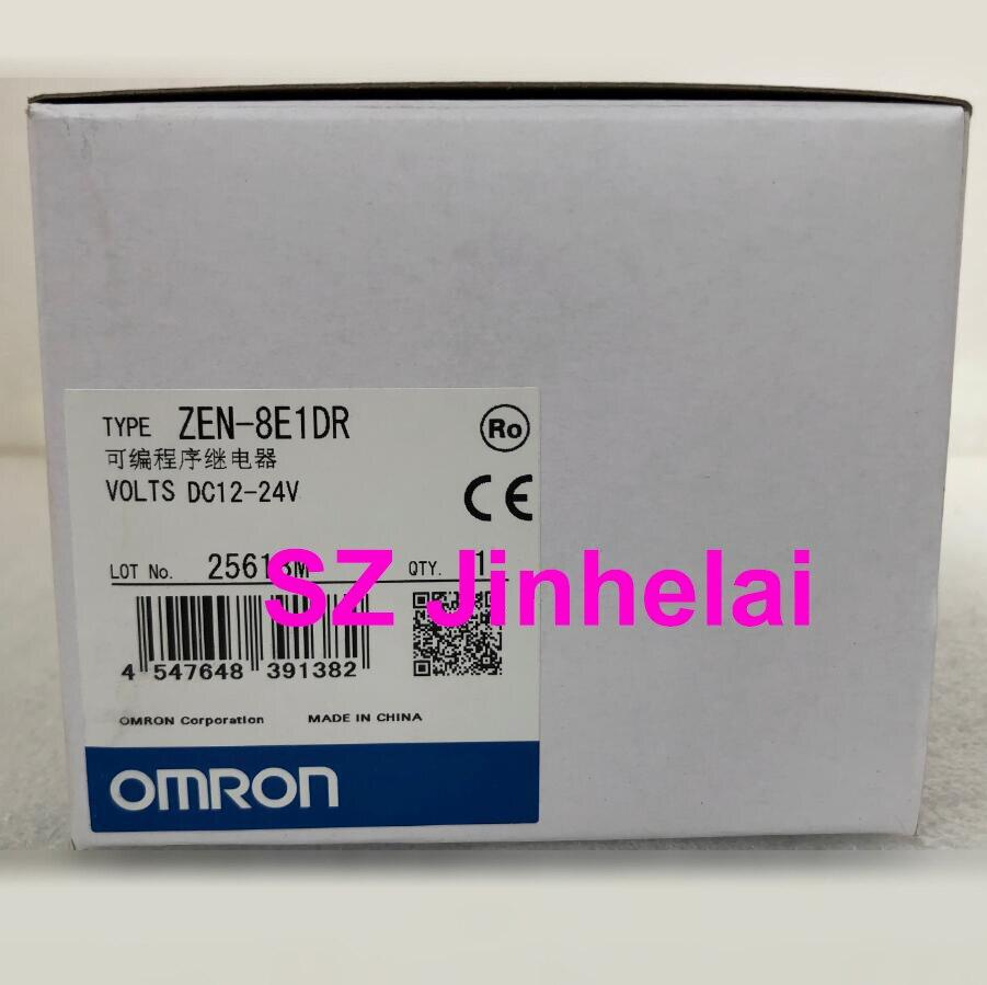 Omron ZEN-8E1DR autêntico relé programável original