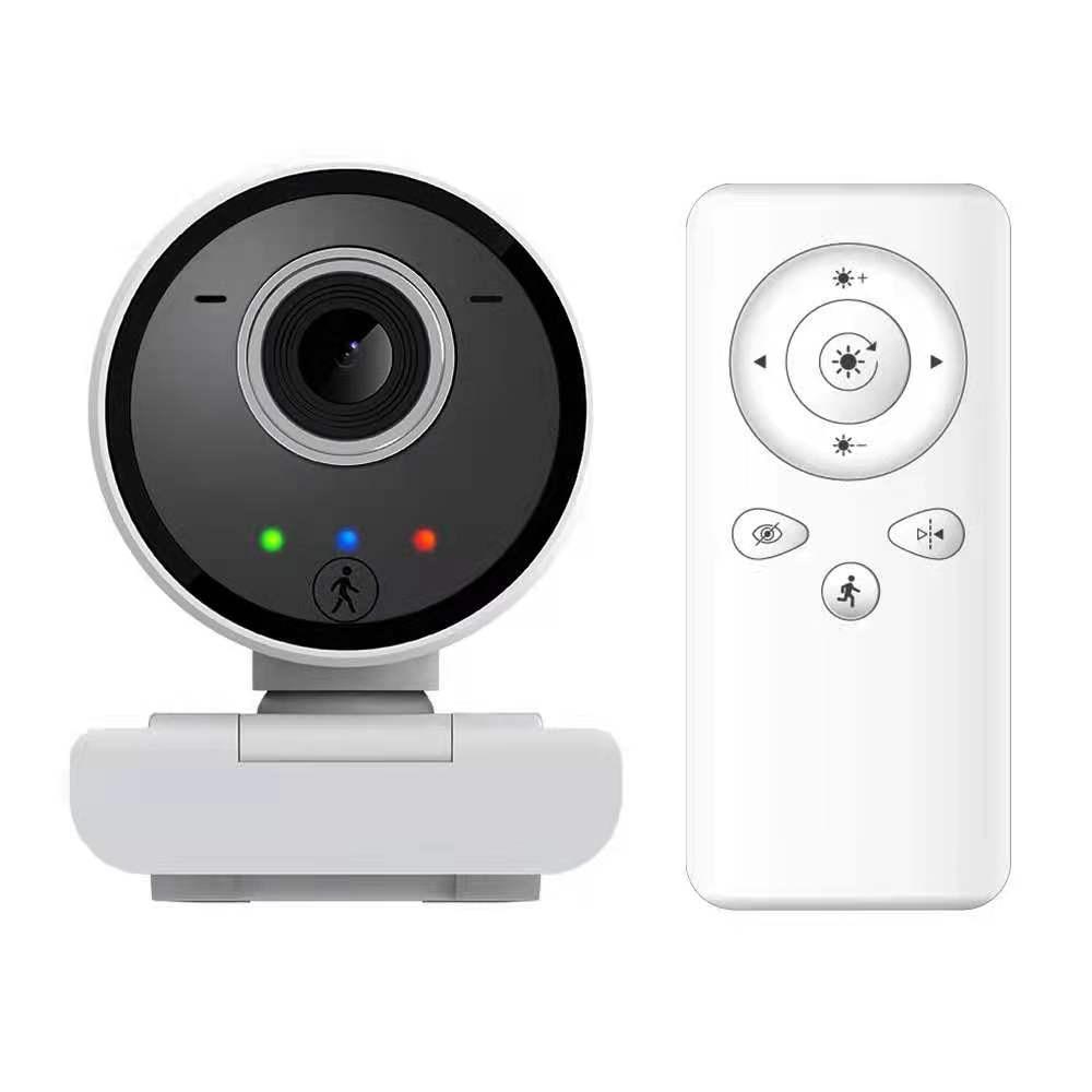 2MP 1080P اللاسلكية PTZ كشف الحركة كاميرا بـ USB لاجتماع مؤتمر التدريس عبر الإنترنت الفيديو
