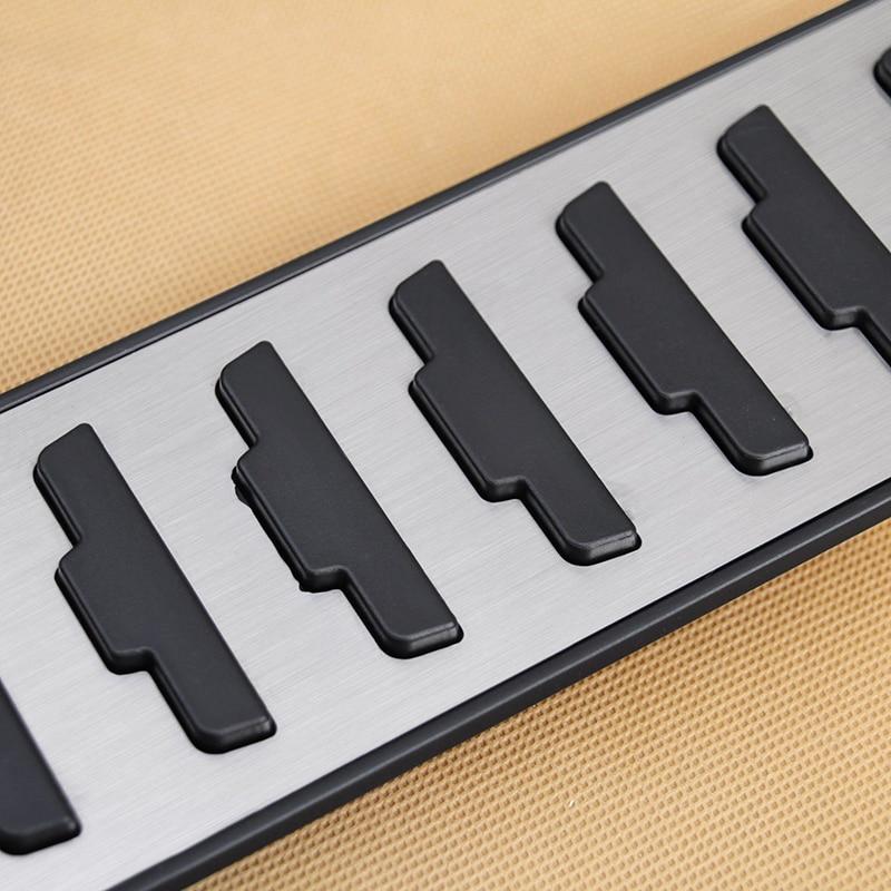 Для Range Rover Evoque 2012-2019 педалей доступа, ходовые доски из нержавеющей стали, крышка педали, горячая Распродажа, новинка