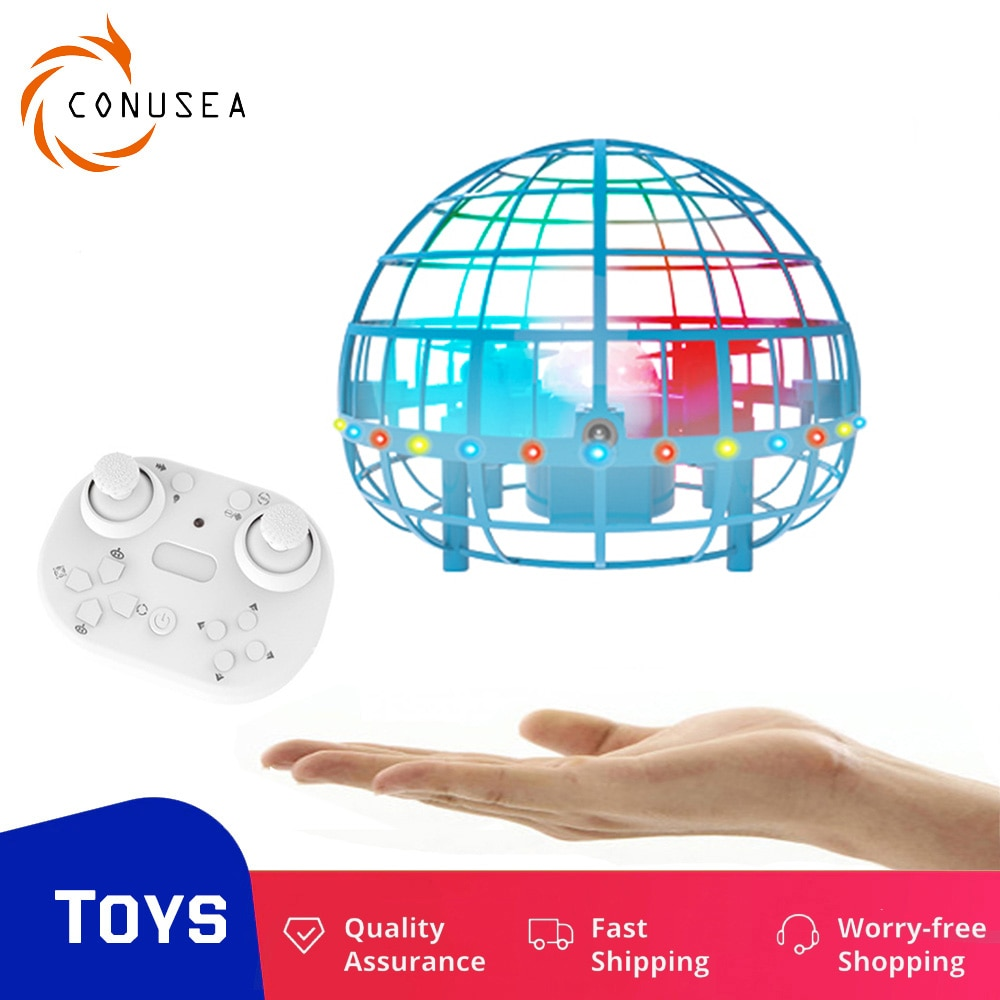 Flyorb ball Spinner Flying Ball space orb mini drone UFO boomerang with remote control RC Helicopter
