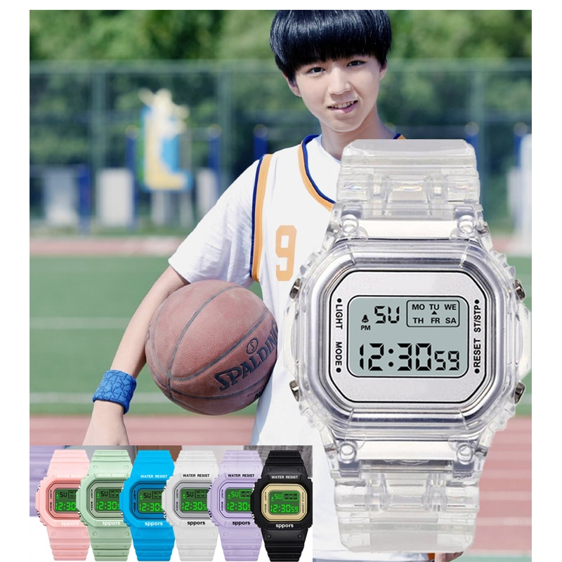 2021 New Children Watches Cute Kids Watches Sports Watch for Girls Boys Girls Rubber Student's Digit