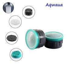 Aqwaua aérateur de robinet économiseur deau   6L/Min 24MM/22MM, bec écologique, accessoire de filtre pour grue