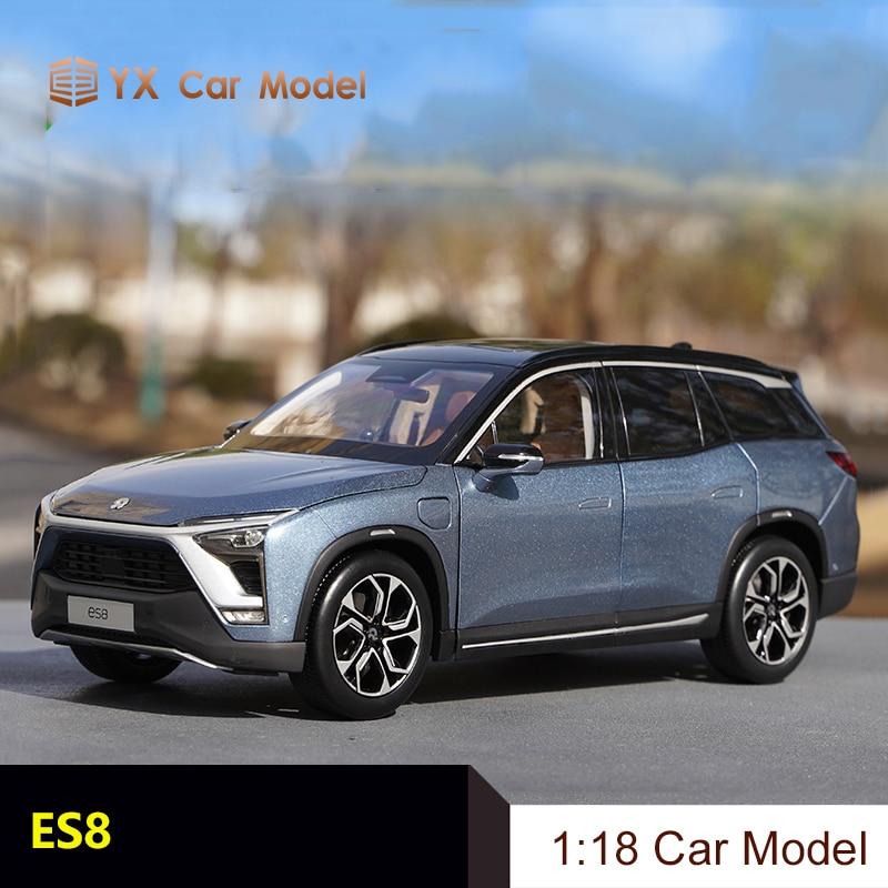 nio es8 modelo de carro de simulacao de liga de fundicao para automoveis eletricos