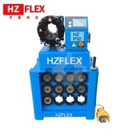 hz p32 220v380v 2 5 inch industrial high pressure hose crimping machine with 13 sets of dies and quick change tool