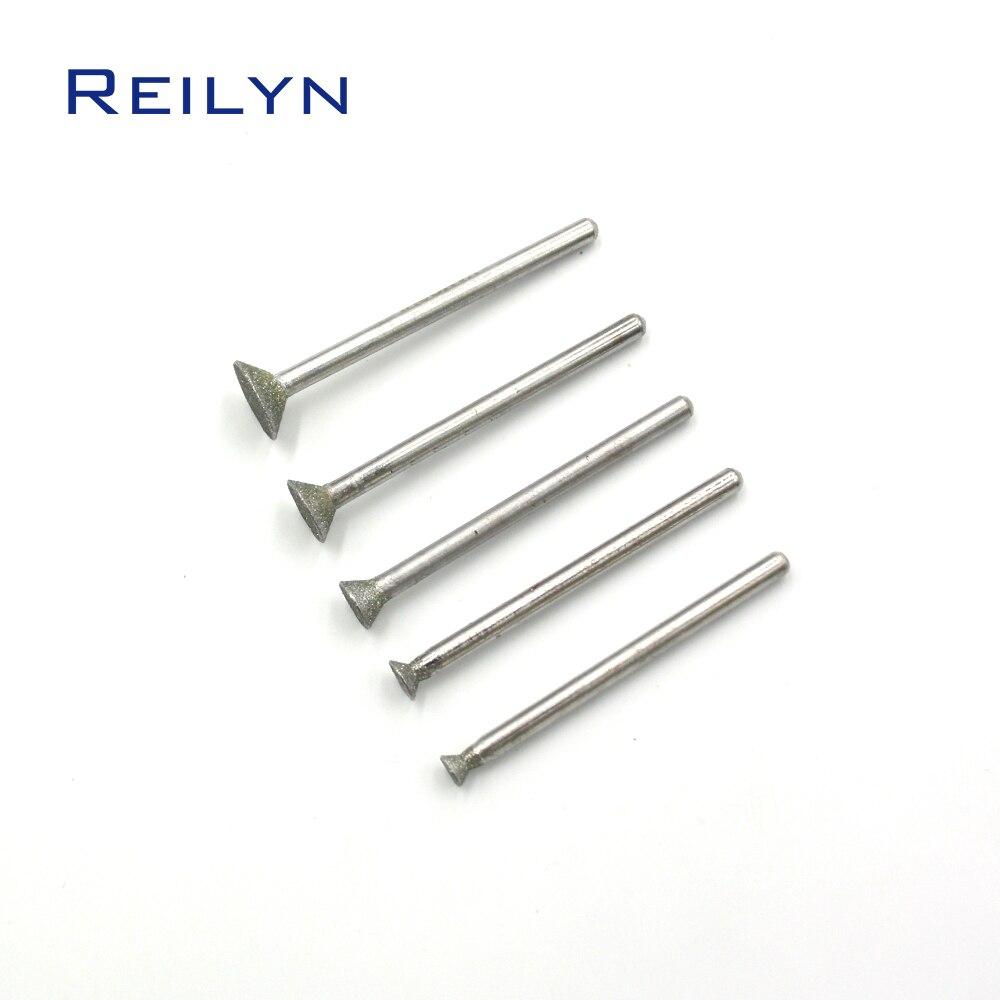 Алмазные шлифовальные сверла, шлифовальные абразивные насадки для шлифовальной машины, Dremel, вращающиеся инструменты