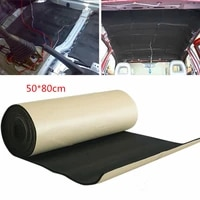5mm car stereo noise heat insulation sound proof dampening pad mat 5080cm soundproof ring foam pad woofer