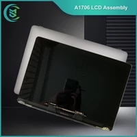 free tools original used a1706 a1708 lcd screen display assembly for macbook pro13 full complete grey silver mlh12ll with sopts