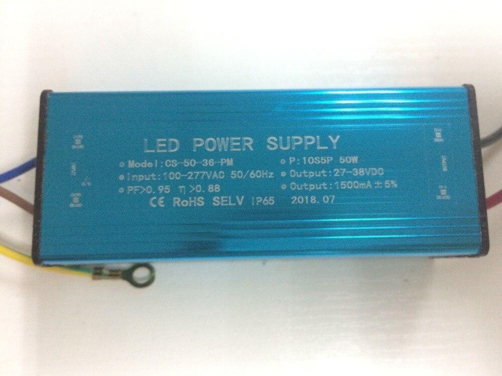 10 pcs free register mail 10s5p 50w Switching Power Supply Driver For LED Strip light Display AC110V-265V Input 20-39v Output