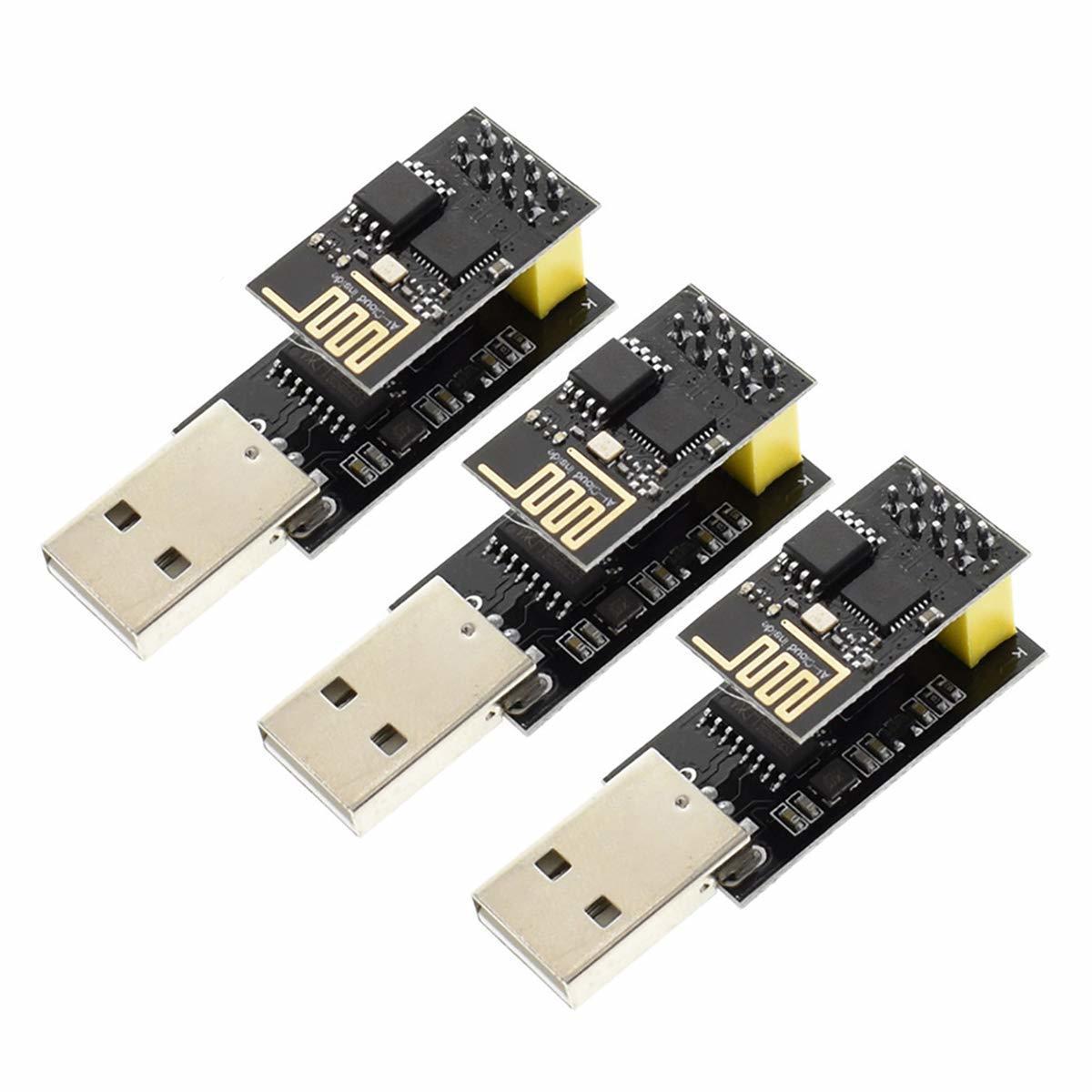 Esp-01 беспроводной приемопередатчик модуль с Usb к Esp8266 Esp01 адаптер для Arduino Uno R3 Mega2560 Nano Raspberry Pi