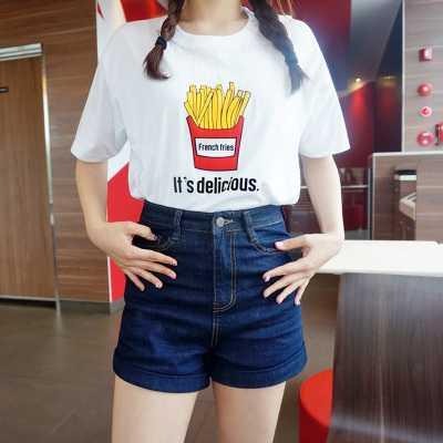 Moda Mujer Tops Camisetas Mujer verano 2019 gris