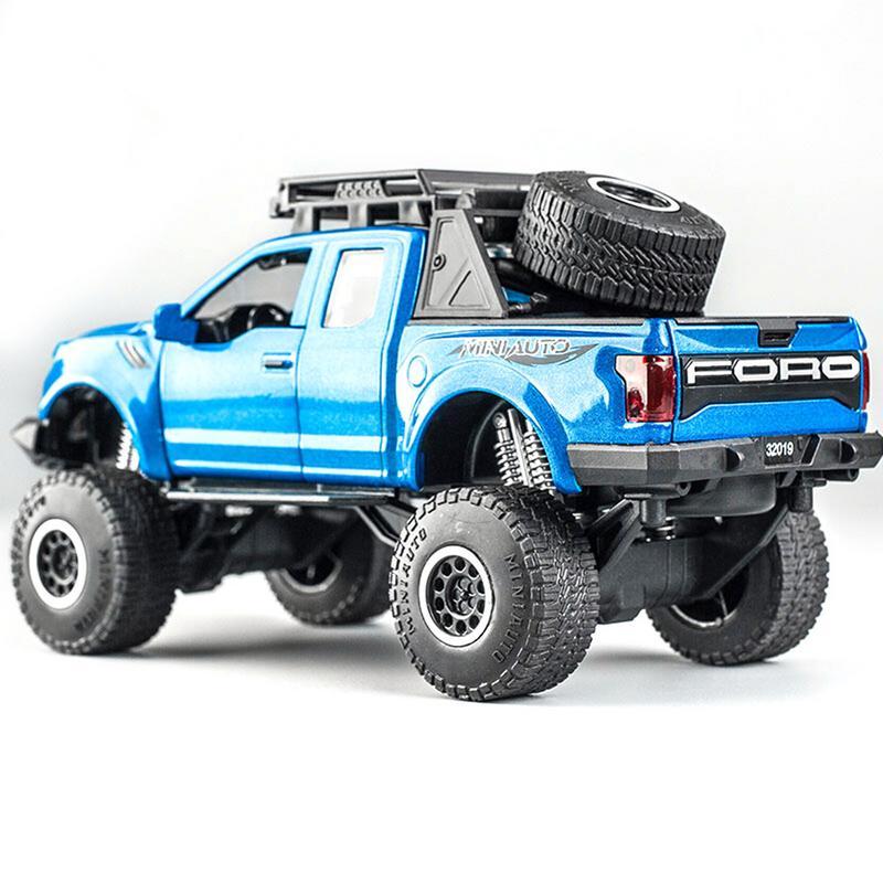 Mini camioneta Toy1:32, modelo de coche de juguete para Ford F150 Raptor,...