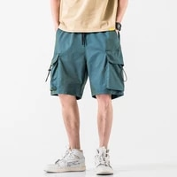 2021 summer new casual shorts men loose male vintage short fashion high quality hip hop mens bermudas shorts clothes