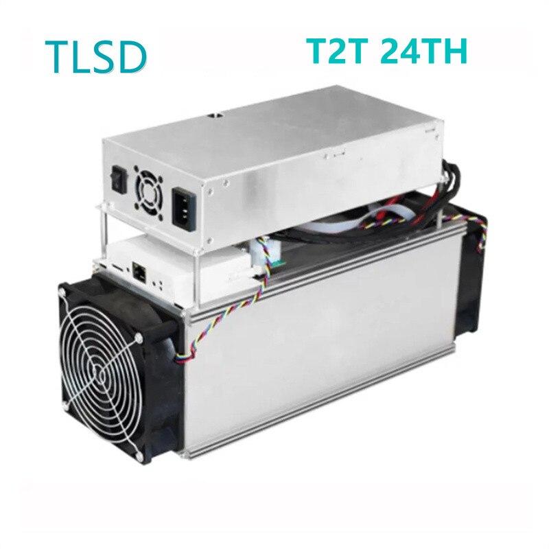 TLSD تستخدم Innosilicon T2T 24TH آلة تعدين البيتكوين