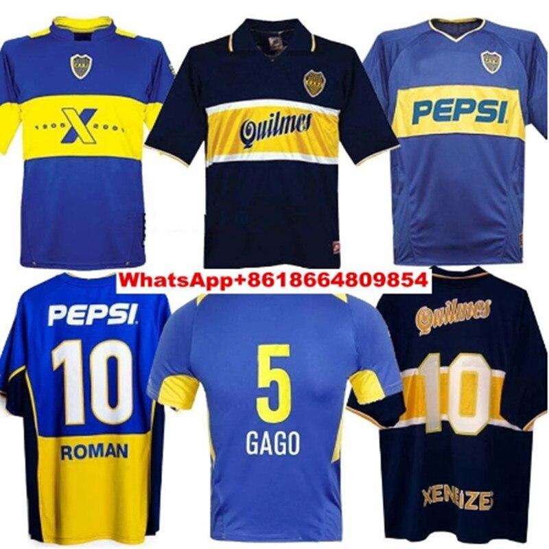 Camiseta Retro De fútbol para hombre, Camisa De MARADONA romana, 01, 02,...