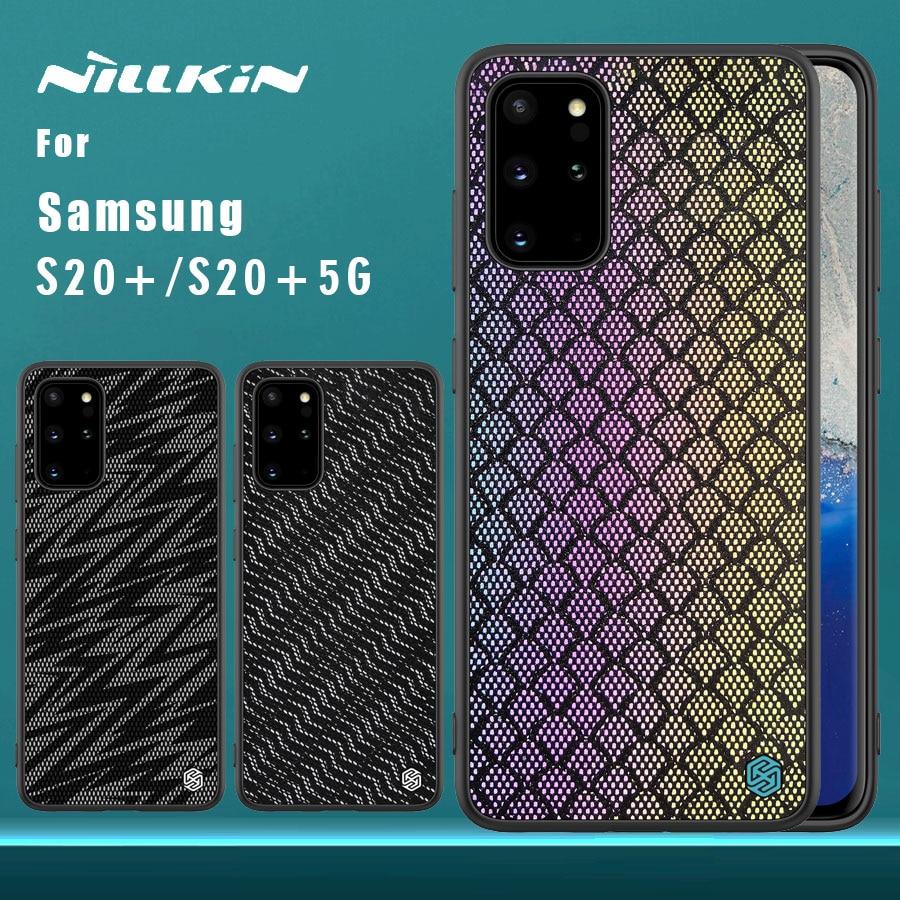 Étui NILLKIN pour Samsung Galaxy S20 Plus   Housse arrière scintillante, pour Samsung Galalaxy S20 Plus S20 + 5G