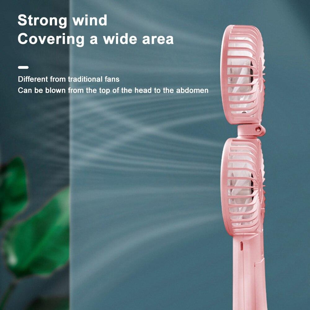 Фото - USB Новый 2021 мини маленький вентилятор портативный для вентилятора портативный USB Перезаряжаемый вентилятор бытовая техника Настольный воз... бытовая техника electrolux вентилятор напольный eff 1005