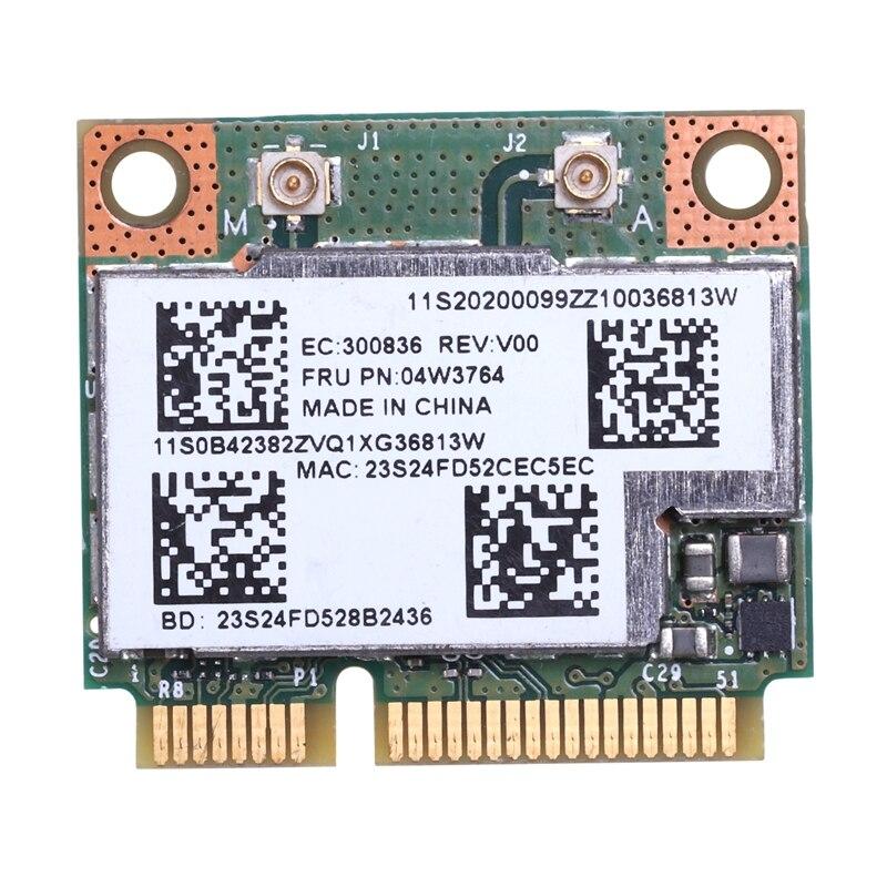 BCM943228HMB doble banda WIFI inalámbrico Bluetooth 4,0 MINI tarjeta PCI-E para IBM Lenovo E430 E431