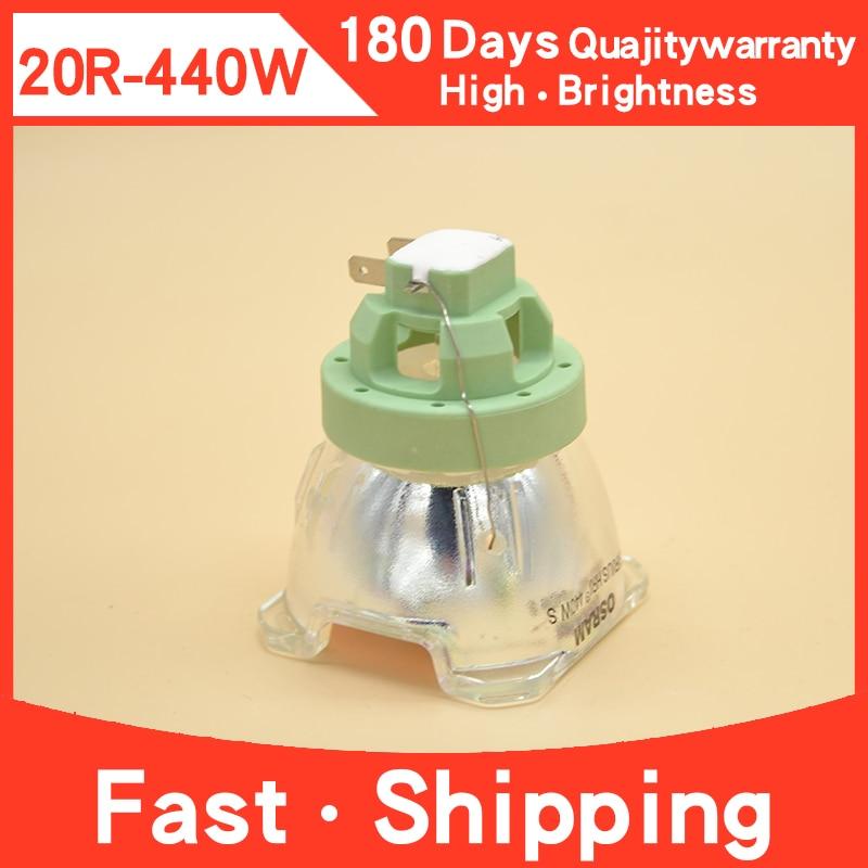 متوافق العارية لمبة 440W 20R ل أوسرام P-VIP 440/1.3 E21.9 العارض مصباح يتحرك رئيس MSD شعاع البلاتين 20R مصباح