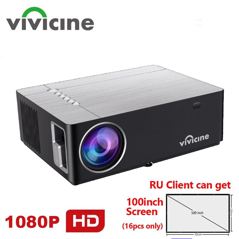 Vivicine-Proyector M20 para cine en casa, 1080p, opción Android 10,0, 1920x1080, Full...