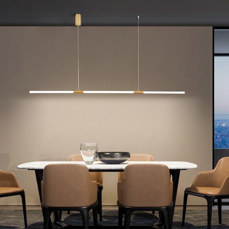 FANPINFANDO Modern Led Chandeleirs Living Room Chandeliers For Dining Room Kitchen Copper plating Indoor Lighting Ac110-220V