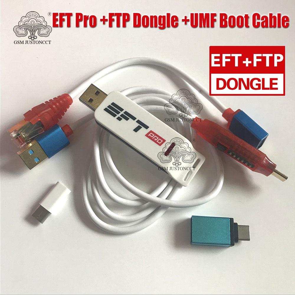 2021 جديد وأصلي EFT Pro2 دونغل/EFT + مفتاح بروتوكول نقل الملفات 2 في 1 دونغل + (UMF) كل كابل التمهيد + بروتوكول نقل الملفات تنزيل غير محدود