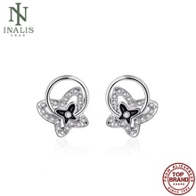 INALIS Vintage Butterfly Shaped Earring Silver Color Earrings For Women Fashion Jewelry Best Selling