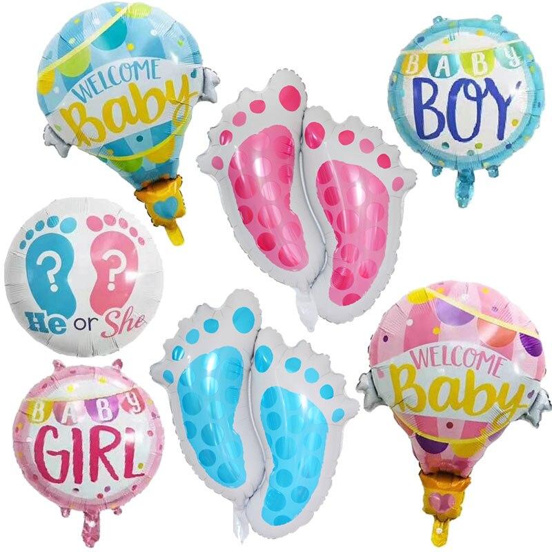 Décorations réception-cadeaux pour bébé   Rose et bleu, ballon rose ou bleu, Its A Boy, fille, révéler le sexe, ballon pour bébé
