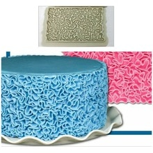 شكل هندسي السكر الحرفية فندان القاطع قالب الكعكة المعجنات الفن النقش البسكويت القاطع قالب أدوات تزيين الكعكة المحيطة