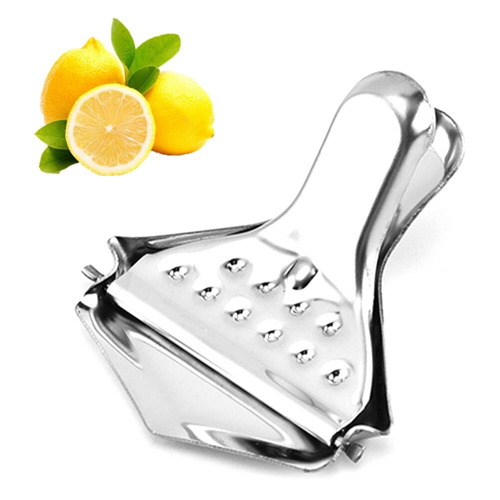 Exprimidor de limón, herramientas de cuña, prensa Manual, naranja, barra de herramientas de cocina, acero inoxidable