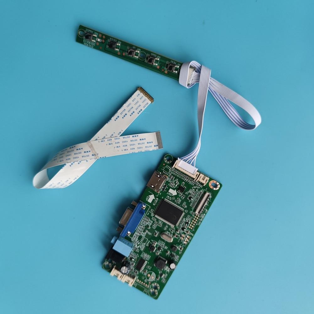 ل N156HGE-EA1 HDMI-متوافق لتقوم بها بنفسك 30Pin LCD سائق عدة VGA 1920X1080 EDP LED 15.6
