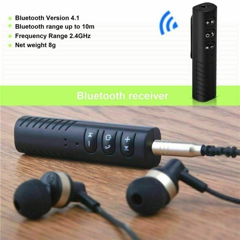Receptor Bluetooth adaptador de Audio inalámbrico Bluetooth transmisor coche Kit Bluetooth auxiliar AUX receptor