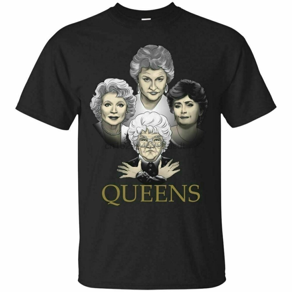 Golden Queens camiseta Squad Goals The Golden Girls camisa de manga corta S-5XL