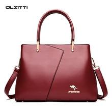 OLSITTI Vintage leather luxury handbags women bags designer ladies hand bags for women 2021 bag sac