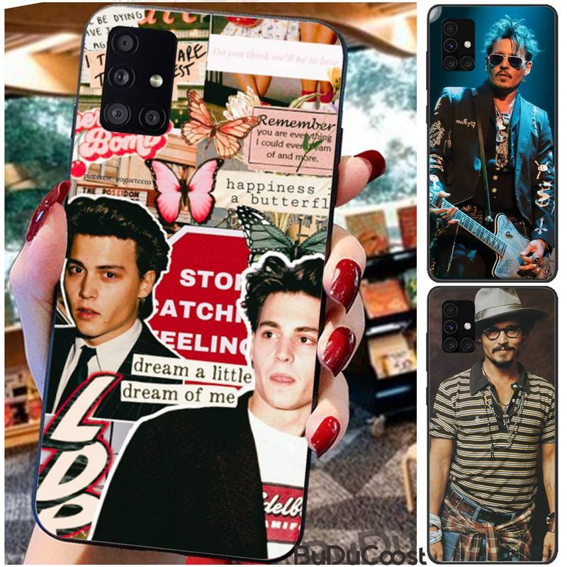 Reall Johnny Depp Phone Case For For Samsung Galaxy A10 A20 A30 A40 A50 70 A10S 20S A2 Core C8 A30S A50S A31