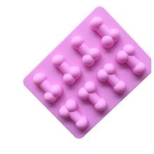 Moldes De Silicone Rendas Para Bolo Sexy Penis Cake Mold Dick Ice Cube Tray Silicone Molds For Soap Chocolate Fondant Cake mold